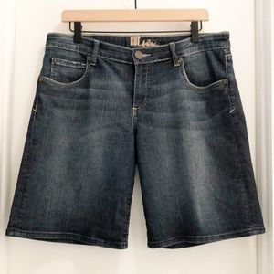 Kut From The Kloth Denim Bermuda Shorts Blue 12